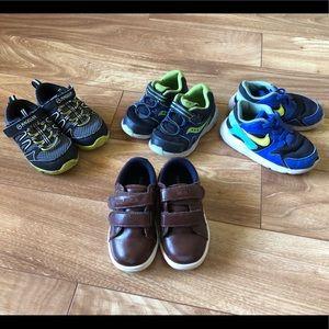 Boys size 7 shoe bundle
